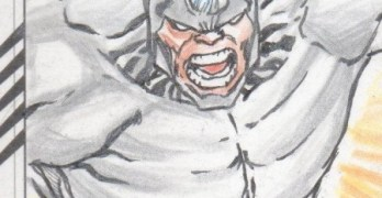 Sketch Card Art of the Day Rhino