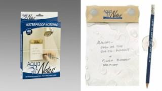 Aqua Notes Waterproof Notepad Giveaway