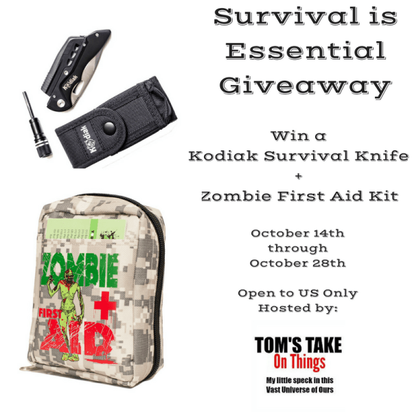 Survival is Essential Giveaway – First Aid Kit and more to win!