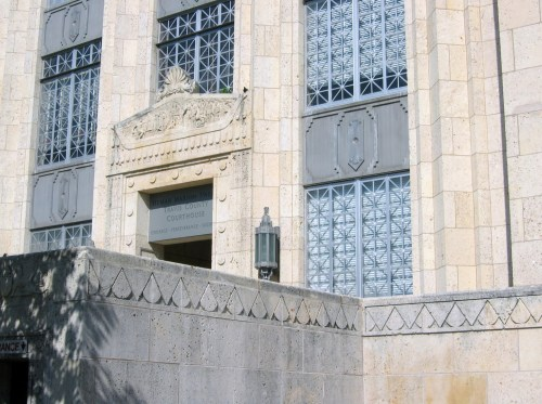 Medium Of Travis County Courthouse