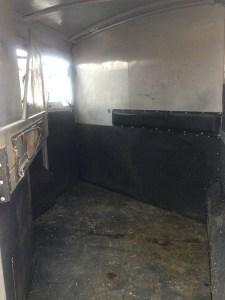 4-star 2 horse slant trailer bumper pull