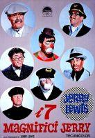 Nel film Jerry Lewis interpreta ben 7 personaggi. Di questi i  sei zii che Lewis interpreta sono: 1. Giacomino: un vecchio capitano di un battello 2. Everett: un cinico clown da circo 3. Eddie: uno strambo pilota d'aereo 4. Julius: un fotografo (in pratica identico fisicamente al Prof. Kelp di Le folli notti del dottor Jerryll) 5. Skylock: un detective privato con aiutante annesso (Sebastian Cabot) 6. Bugsy: un gangster dato per morto