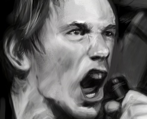 Johnny Rotten (Detail)