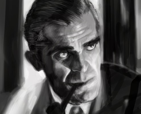 Boris Karloff Close Up