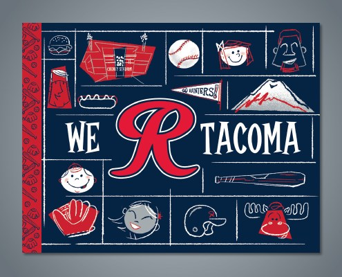 We R Tacoma - Front Cover