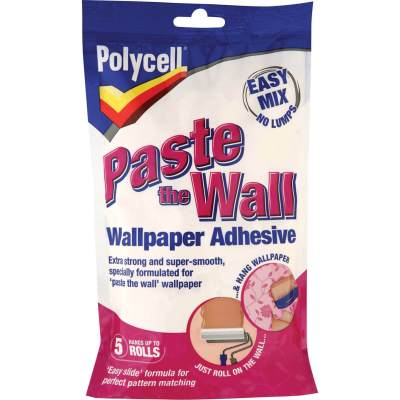 Polycell Paste The Wall Powder Wallpaper Adhesive