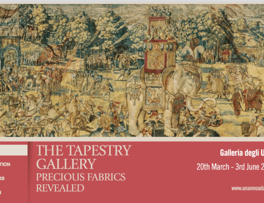 The Tapestry Gallery in Florence