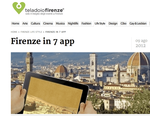 Florence in 7 app
