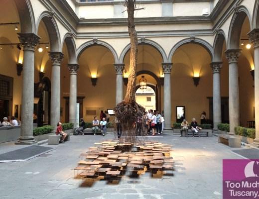 Palazzo Strozzi, the courtyard