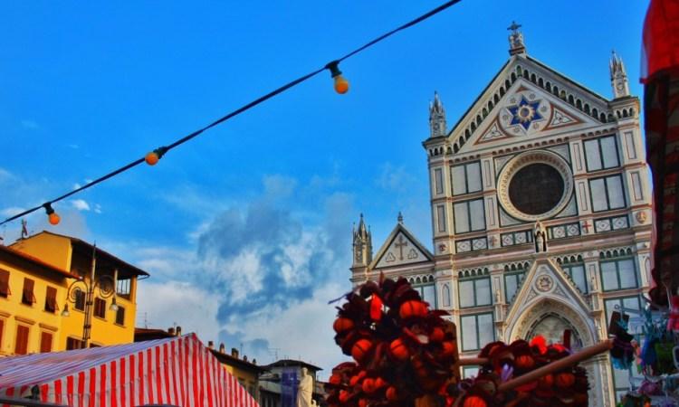 German Xmas Market in Piazza Santa Croce