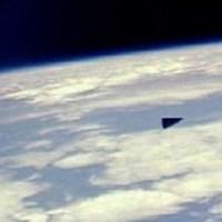 Huge Triangle Over Ozona Texas