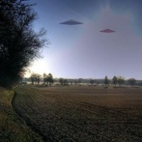 Triangle UFO Spotted Over Aberdeen Proving Grounds, Maryland