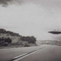 UFO Lands On Road In Wisconsin