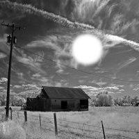 Close Encounter On Dark Road In South Dakota