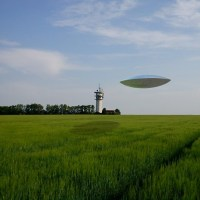 UFO Lands In Mount Pleasant Iowa