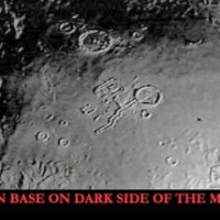 Structure On Dark Side Of The Moon