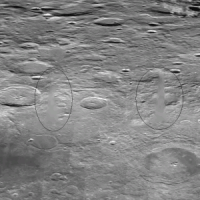 Airbrushed Structures On The Moon