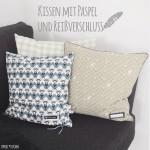 Tutorial | Kissen mit Paspel und Reißverschluss