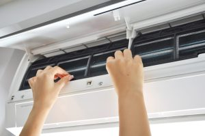 Cleaning your air filters is a great way to maintain your HVAC system.
