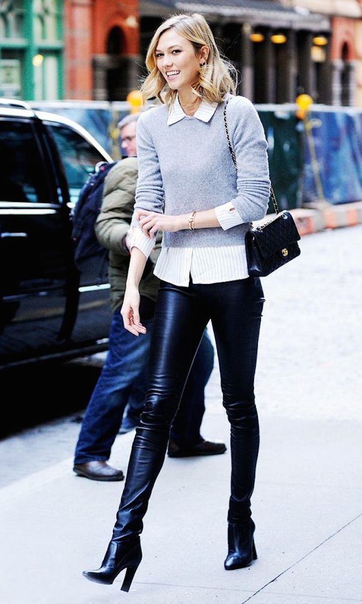 Top 10 Valentine's Day Outfit Ideas - Karlie Kloss