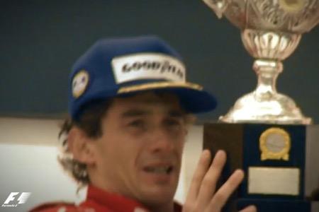 【動画】アイルトン・セナ、ブラジルGP優勝時に泣き叫ぶ伝説の映像