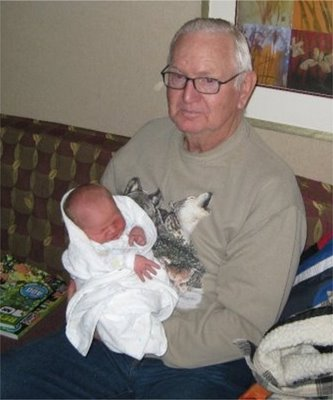 Grandpa Totsch and Nicholas