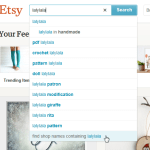 Guide til at handle på ETSY