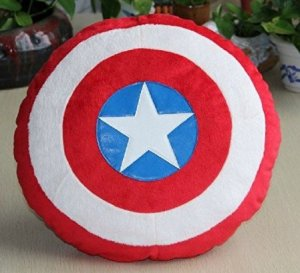 Captain America Stuffed Plush Pillow Cushion Toy 35 Cm