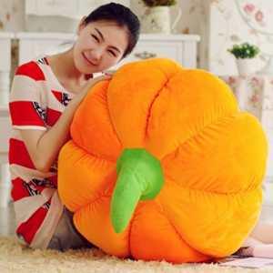 US Top Generic Cute Pumpkin Pillow Cushion Plush Toy Doll