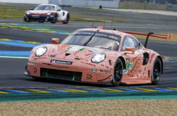 "Porsche 911 RSR im ""Pink Pig Design"" © Porsche AG"