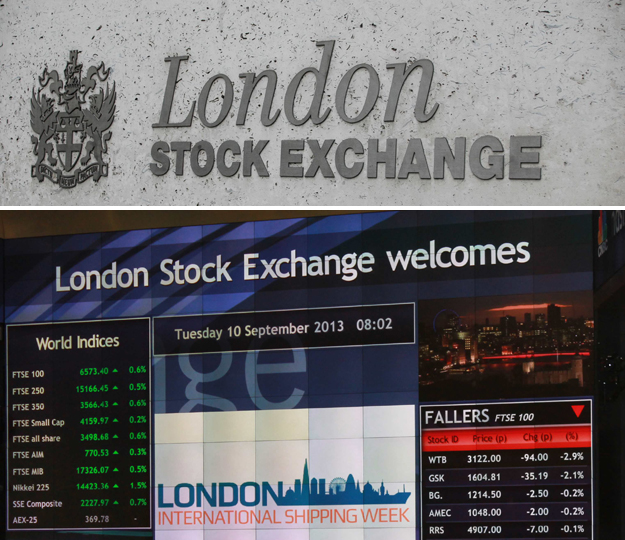 stock exchanges pics