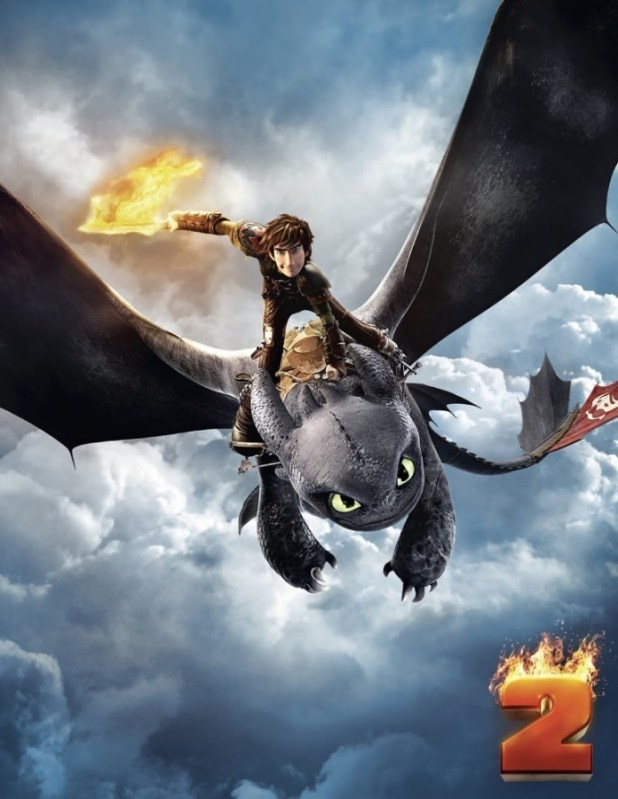 How To Train Your Dragon 2 Teaser Poster