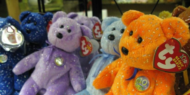 Top 10 Best-Selling Beanie Babies on Amazon 2016