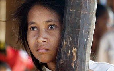 little cambodian girls