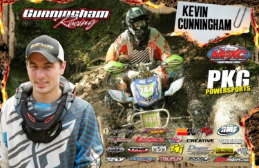 Kevin Cunningham Autograph Poster