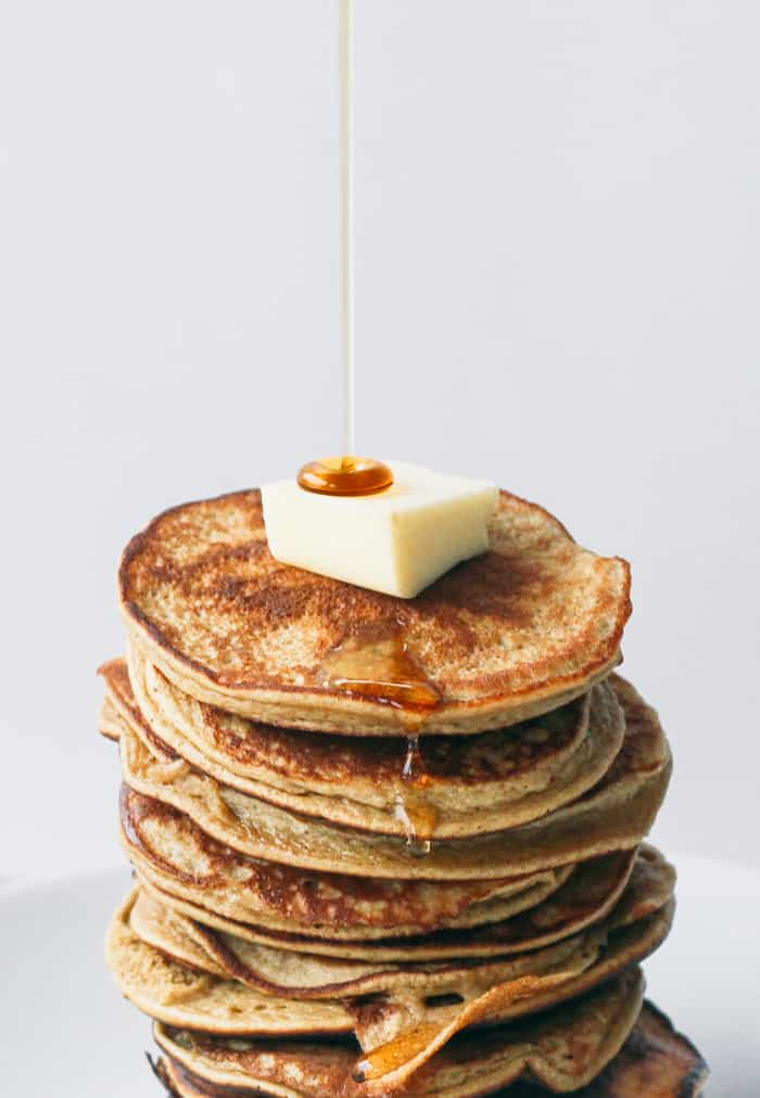 2 ingredient Healthy Pancakes (gluten free)-1