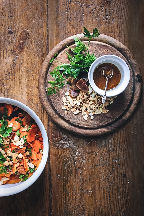 Cumin-spiked Carrot and Chickpea Salad - Izy Hossack - Top ...