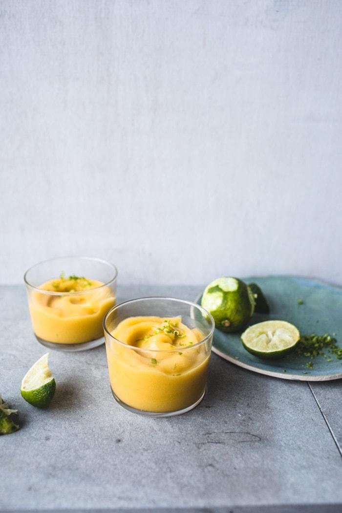 Frozen Mango & Apple Daiquiris