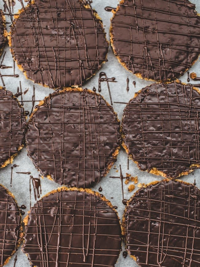 DIY Chocolate HobNob Biscuits // Izy Hossack - Top With Cinnamon