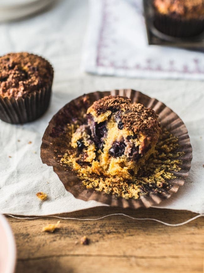 Blueberry-Carrot Muffins (GF, refined sugar-free)-9