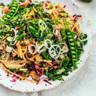 Raw Sweet Potato Satay Salad-15