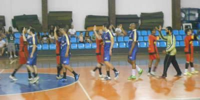 ADJF/MRS e São José jogaram na noite deste sábado, 18, no ginásio da Faefid