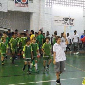 Participação do Sport no desfile de abertura da competição, no ginásio do Colégio dos Jesuítas