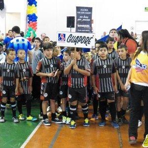 Guaporé, no desfile de abertura da Copa Prefeitura Bahamas de Futsal 2015