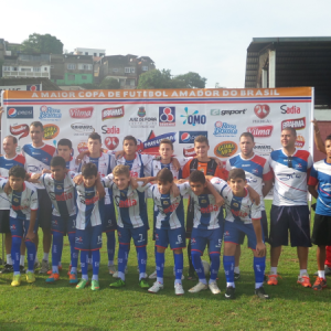 Centro de Futebol Zico campeão mirim da Copa Prefeitura Bahamas de Futebol Amador 2015