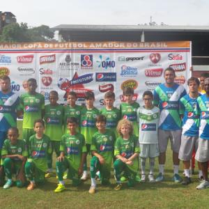 Sport Club campeão dente de leite da Copa Prefeitura Bahamas de Futebol Amador 2015
