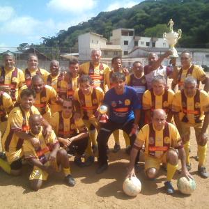 Grajaú campeão da Copa Camisa 12 na categoria Sênior
