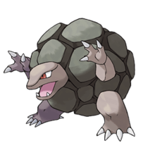Golem the Pokemon... 'nuff said.
