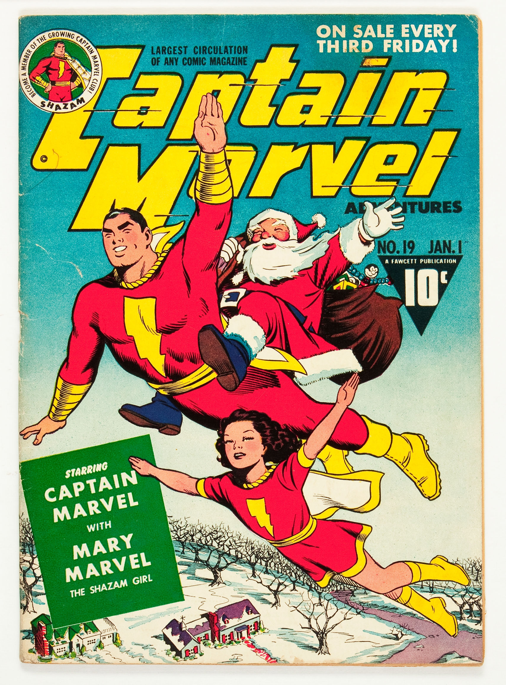 Figure 1: Captain Marvel Adventures19 January1941