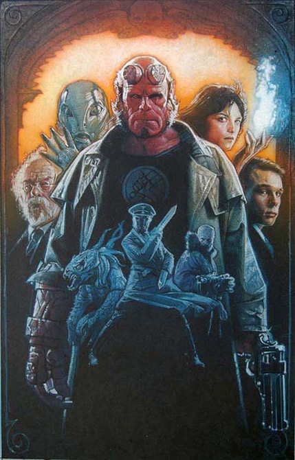 Drew Struzan Hellboy art